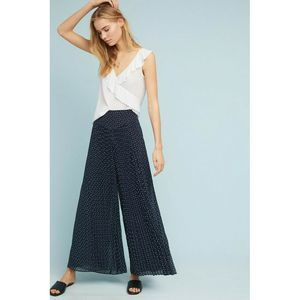 New Anthropologie Kingston Wide Leg Pleated Pants by FeatherBone